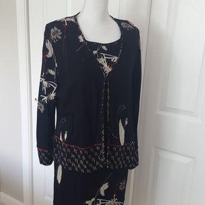 Carole Little Sheath Dress and Jacket 14